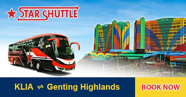 Bus from KLIA to Genting Highlands