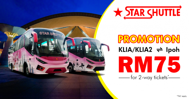 Star Shuttle Promotion price